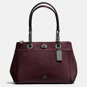 COACH Turnlock Edie Shoulder Bag
